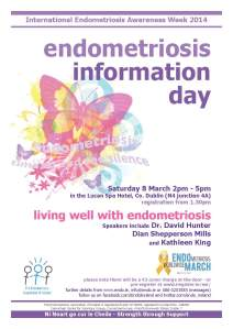 Endometriosis Info Day 2014